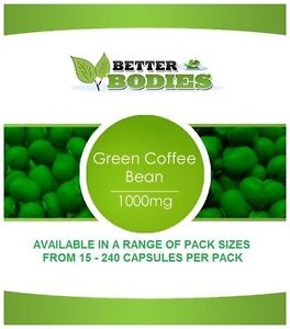1000mg Green Coffee Bean Extract Weight Loss Slimming Diet Pills
