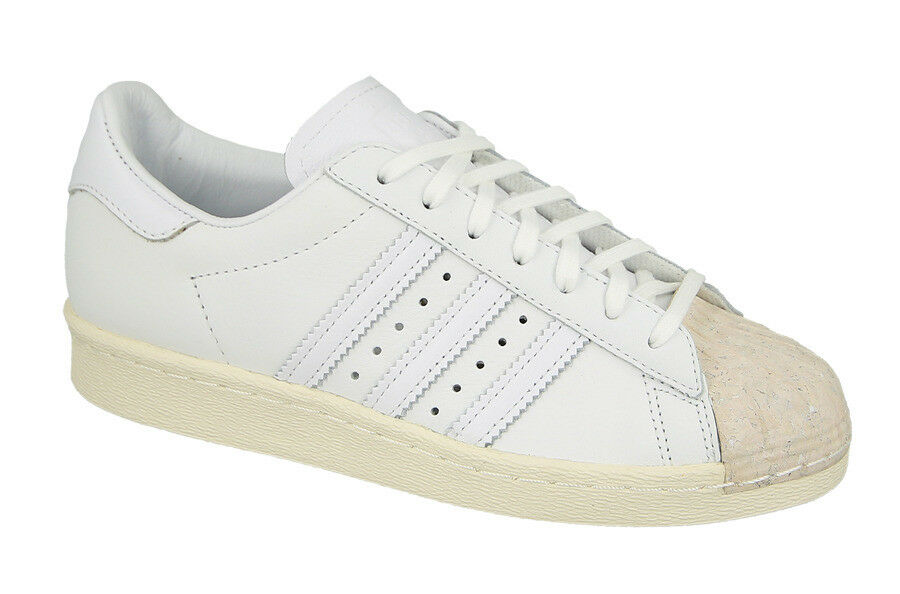 ADIDAS SUPERSTAR 80S CORK LOW SNEAKERS WOMEN SHOES WHITE BY8708 SIZE 7.5 NEW