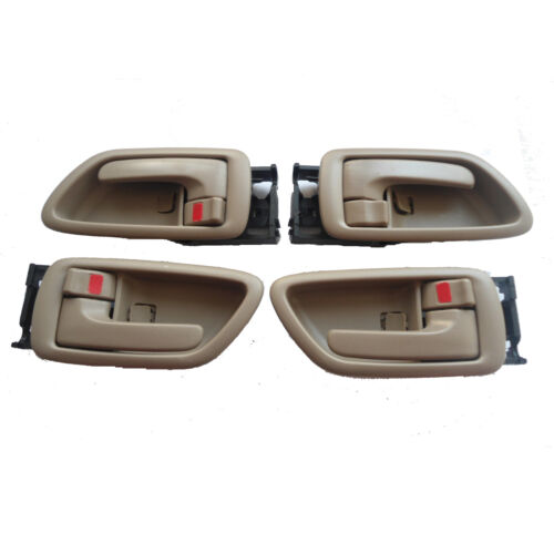 Fit 01-07 Toyota Sequoia Tundra Inside Driver Left Right Side Door Handle 4Pcs