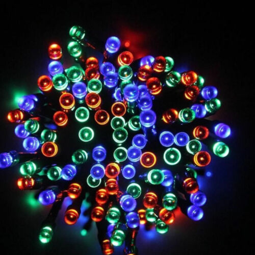 Solar Lights Fairy String Light Indoor Outdoor for Patio Lawn 150 Lights 50 ft