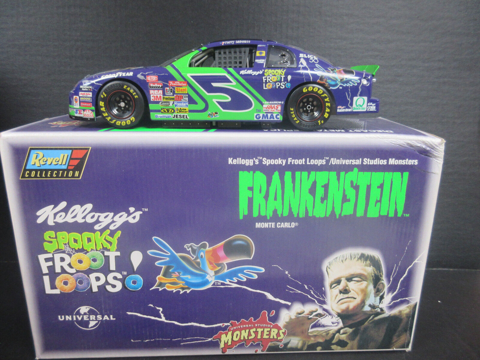 1997 Revell Terry LaBonte-Frankenstein 1 18th 18th 18th Scale Nascar 1af5bd