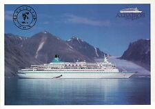 MS Albatros Cruise Ship in Svalbard, Spitsbergen Norway, Arctic Ocean - Postcard