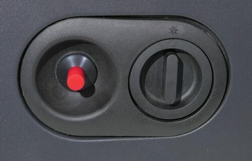 Rosso 4.2Kw portatile riscaldatore in piedi armadio di riscaldamento a gas butano 3 regolazioni di calore