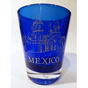 MEXICO-COBALT-BLUE-CLASSIC-DESIGN-SHOT-GLASS-SHOTGLASS