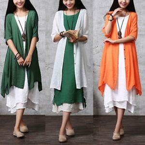 ZANZEA-AU-8-24-Women-Thin-Cardigan-Kimono-Jacket-Outerwear-Plus-Size-Tunic-Coat