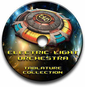 electric light orchestra elo rock guitar tab tablature song book software cd ebay. Black Bedroom Furniture Sets. Home Design Ideas