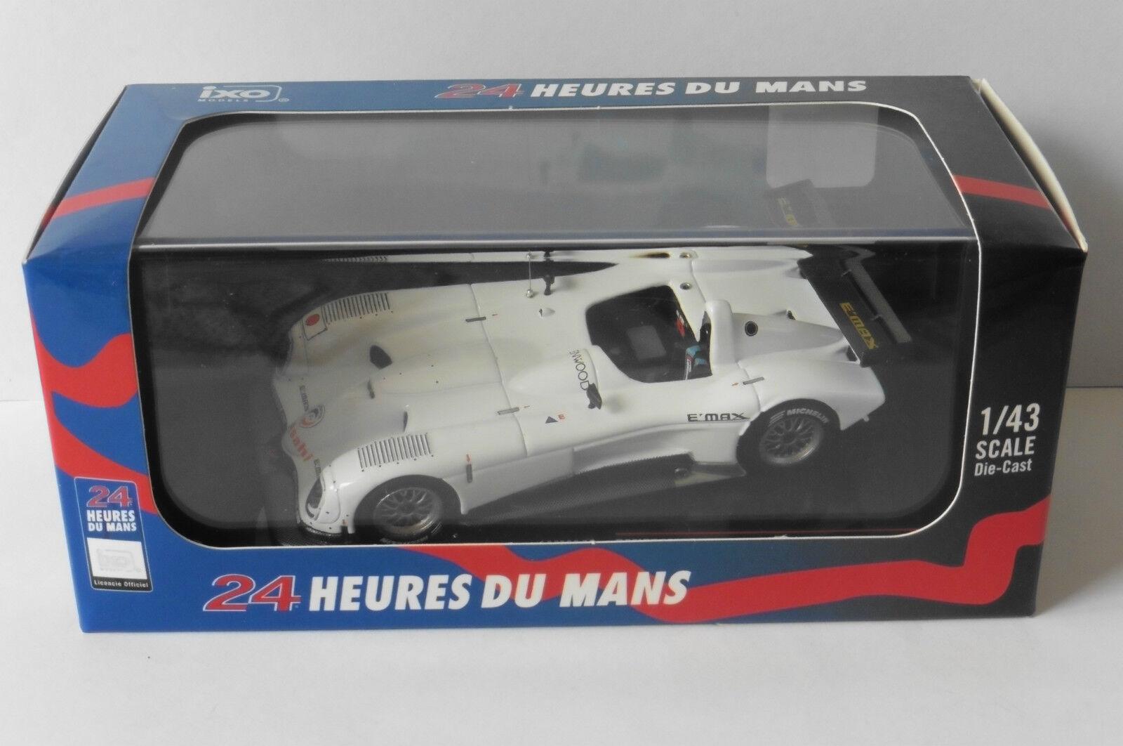 PANOZ LMP900 TEST CAR 24 HEURES DU MANS 2000 IXO LMM140 1 43 HOURS blanc blanc