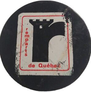 QUEBEC-REMPARTS-QMJHL-OFFICIAL-HOCKEY-PUCK-MADE-IN-CZECH