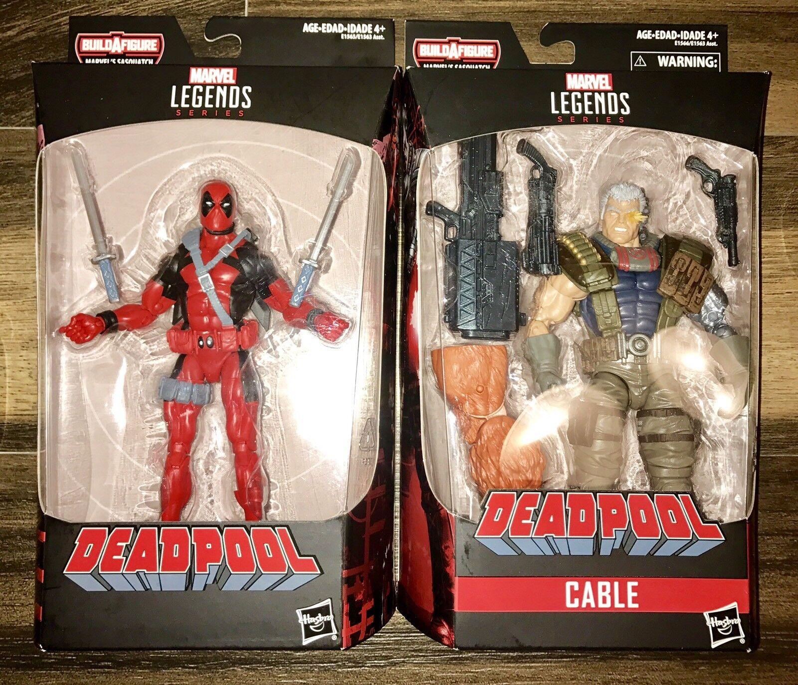 Marvel - legenden fr deadpool & kabel - action - figur viel bigfoot baf - serie fr seltene