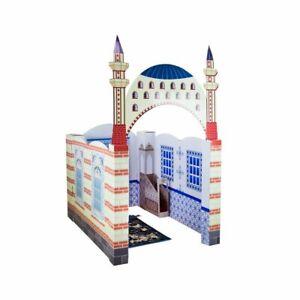 Mymescid-Moschee-Koran-Kinder-Geschenk-Muslim-Spielzeug-Gebet-Junge-Karton-Eid