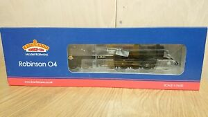 RARE-Bachmann-Branch-Line-31-002-Robinson-04-63635-BR-Black-Early-Emblem-DCC-NEW