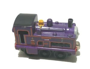 2005 THOMAS & FRIENDS CULDEE PURPLE TAKE N PLAY DIECAST METAL TRAIN ENGINE NICE