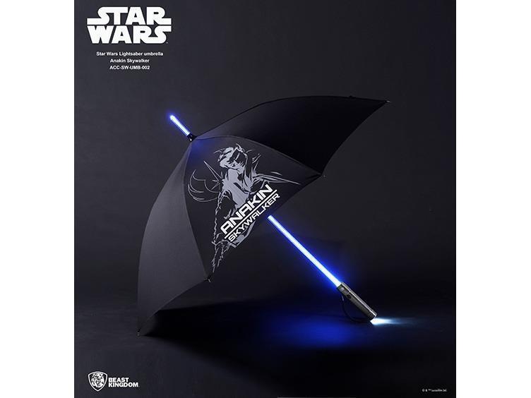 BEAST KINGDOM STAR WARS ANAKIN SKYWALKER LIGHTSABER LED LIGHT UMBRELLA 2ND UK