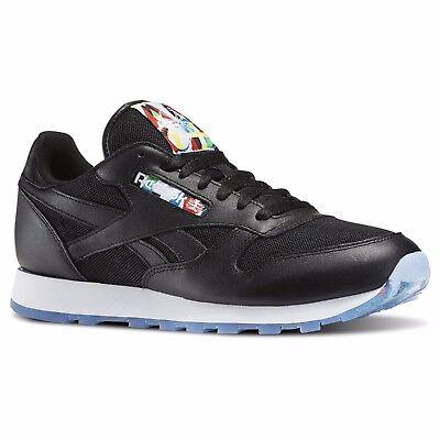 Reebok classic leather mid goretex® mens shoes blackwhite