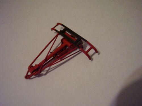 2 Einholm-Stromabnehmer rot vermutlich Märklin 100131 Märklin HO Pantograph