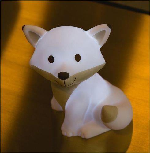 ATELIER PIERRE Ceasar Fox LED Lampe Weiss NEU OVP Fuchs Nachtlicht Leuchte | Online-verkauf
