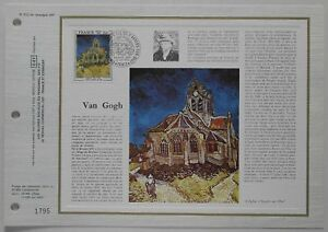Feuillet-CEF-512-1er-jour-1979-Vincent-Van-Gogh-Peintre