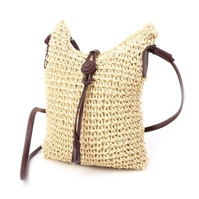Women Handbag Straw Weave Tote Purse Lady Beach Hobo Bag Crossbody Shoulder Bag