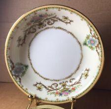 Flat Cream Soup Bowl /& Saucer Arabella 97875 Noritake Vintage