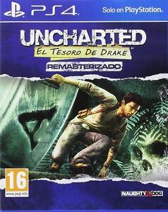 UNCHARTED-1-EL-TESORO-DE-DRAKE-PS4-EN-CASTELLANO-ESPANOL-NUEVO-PRECINTADO-PS4