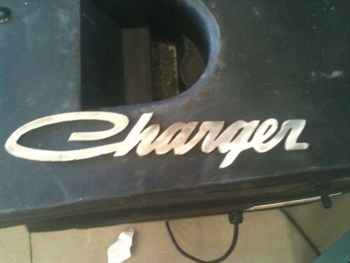 Metal Charger Logo Man Cave//Garage Wall Decor
