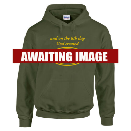 4 x 4 SWEATSHIRT On The 8th Day God Created Funny Premium Quality up to 5XL
