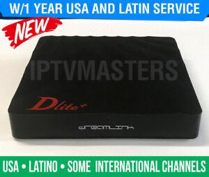Details about BEST USA TV DREAMLINK DLITE+ IPTV SET TOP BOX w/1 YEAR  SERVICE - USA IPTV