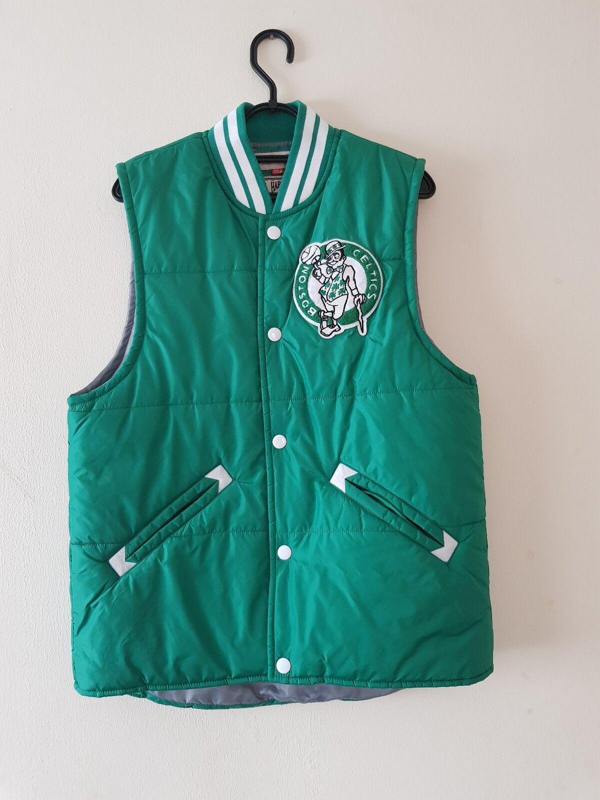 Mitchell and Ness Boston Celtics NBA Tailgate Vest Team colors size Medium