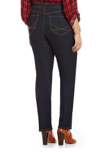 Size Plus Jeans New Stitched Straight Marilyn 24w Dark Dark Nydj E5xqqp