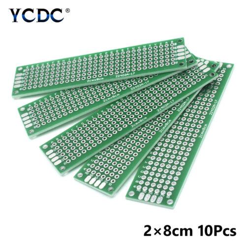 5//10Pcs Double face PCB Prototype Circuit Imprimé Universel Breadboard Plates 4