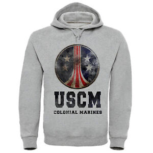 Aliens-USCM-Colonial-Marines-Hoodie-S-2XL-M41a-Pulse-Rifle-LV426-Nostromo-Sulaco