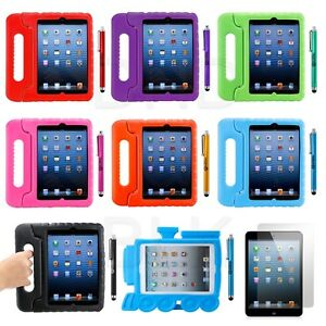 Kids-Safe-Friendly-Thick-Foam-Case-W-Handle-Stand-for-New-iPad4-3-2-i-Pad-Mini
