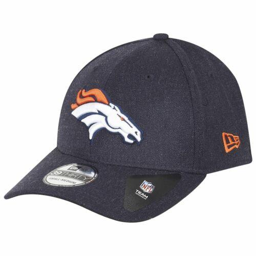 NFL Denver Broncos heather navy New Era 39Thirty Cap