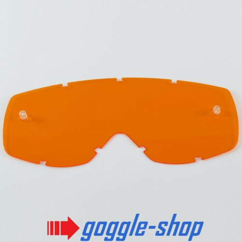 GOGGLE-SHOP REPLACEMENT LENS for SCOTT HUSTLE MOTOCROSS MX GOGGLES ORANGE TINT
