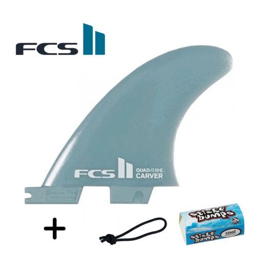 Free Leash String /& Wax Bit Bar FCS II Carver Small Side Bites//Quad Rears