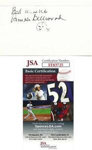 Pamela-Bellwood-Signed-Authentic-Autographed-3x5-Cream-Index-Card-JSA-FF83725