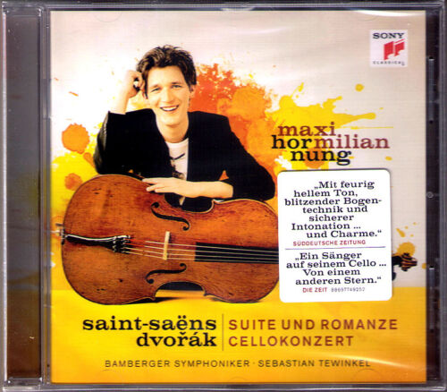 1 von 1 - Maximillian HORNUNG: DVORAK Cello Concerto SAINTSAENS Suite Romanze CD TEWINKEL