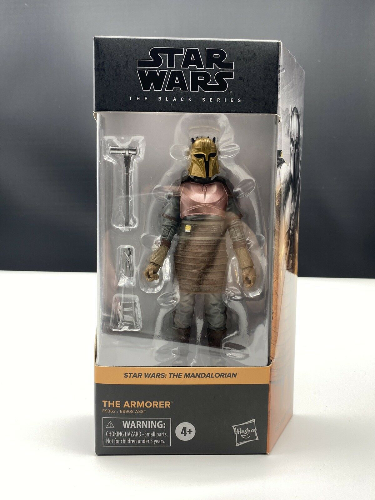 "Star Wars Black Series 6/"" Figure 2020 Wave 2 Orange The Armorer IN STOCK"