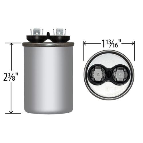 25 uf MFD 370 VAC ROUND Capacitor 12715 Replaces C325 C325R 97F9606BX 97F9606