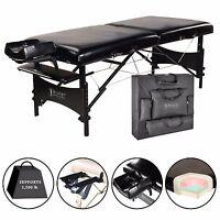 Master 30 Galaxy Portable Massage Table- Black