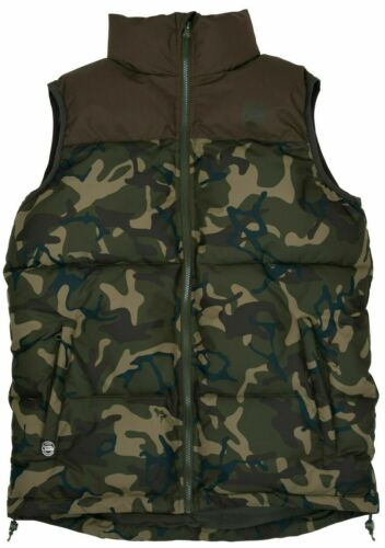 Fox Chunk Khaki Camo RS Gilet *All Sizes* Fishing Jacket Waist Coat NEW