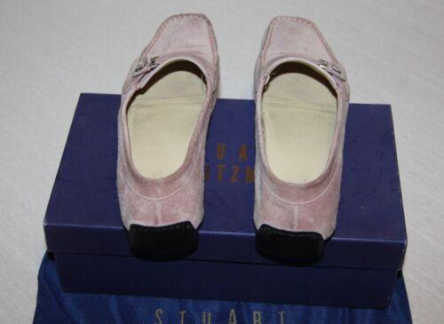 gr Designer Weitzman Schicke Mokassins Schuhe Super Damen 40 Stuart Edle Slipper OwZFqqT