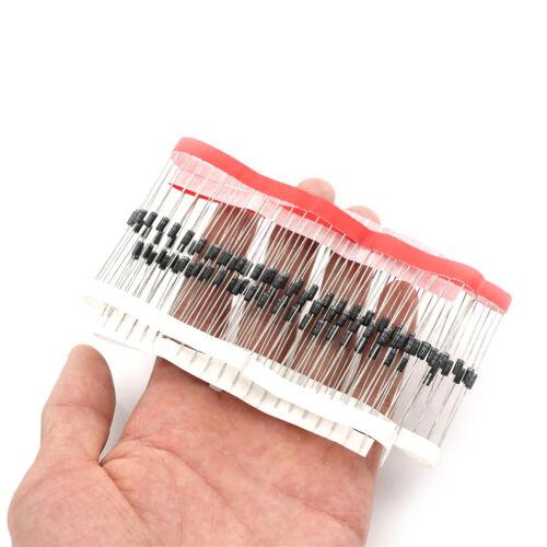 100Pcsdo-41 1N4007Gleichrichterdioden.elektronischeKomponenten liefert 1a1200 WQ