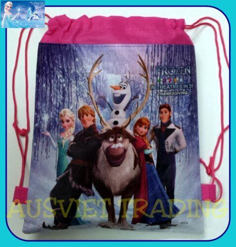 Brand new Frozen Queen Elsa Library kids Swim Beach drawstring Bag new styles