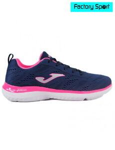Detalles de Joma Venus Lady Confort 903 marino rosa Zapatillas deportivas fitness mujer
