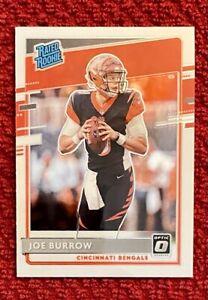 Joe Burrow Rated Rookie Card 2020 Donruss Optic #151 Bengals 🔥🔥🔥📈