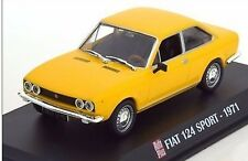 Nice 1/43 Fiat 124 Sport Coupe 1971 DeAgostini Auto Plus France