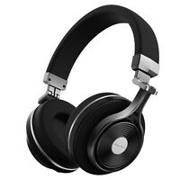 Bluediot3 Turbine Bluetooth4.1 Stereo 3d Headsets Wireless Headphones Mic/black