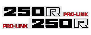HONDA 1983 CR250 SWINGARM DECAL GRAPHIC LIKE NOS