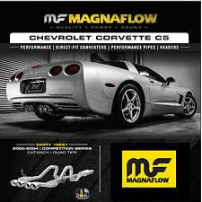 """Magnaflow Cat Back Dual Exhaust 2000-2004 Chevy Corvette C5 5.7L QUAD 4"""" TIPS"""